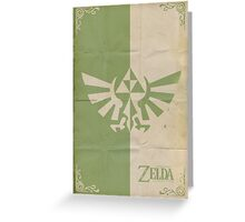 Triforce Crest Greeting Card