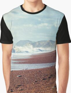 Crashing Coast Graphic T-Shirt