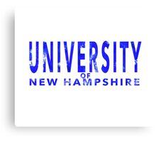 University of New Hampshire Canvas Print