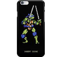 8-Bit Turtle Power iPhone Case/Skin