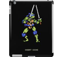 8-Bit Turtle Power iPad Case/Skin