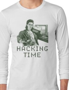 Hacking time Long Sleeve T-Shirt