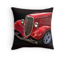 Antique Auto Pillow Throw Pillow