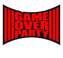 Cool Game Over Party Design by Style-O-Mat
