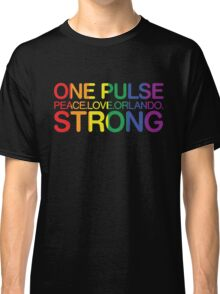 Peace, Love, Orlando Classic T-Shirt