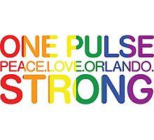 Peace, Love, Orlando Photographic Print