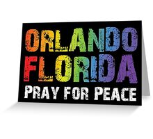 Orlando Florida LGBT Peace Greeting Card