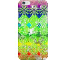 Mandala Spiritual Pyschodelic take on album art on white iPhone Case/Skin