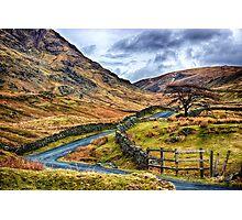 The Winding Way Photographic Print