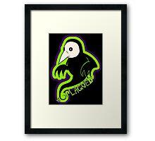 Plague Shadow Framed Print