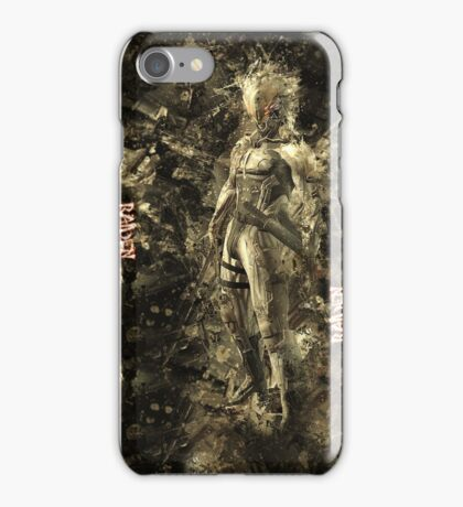 Raiden-Metal Gear Solid Camo Style iPhone Case/Skin