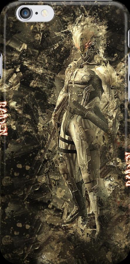 Raiden-Metal Gear Solid Camo Style by ItzVenom