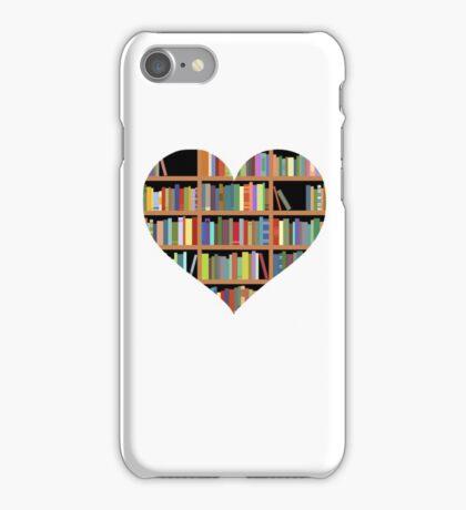 Books heart iPhone Case/Skin
