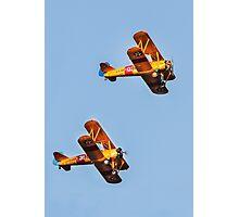 Pre-WWII Biplanes Photographic Print