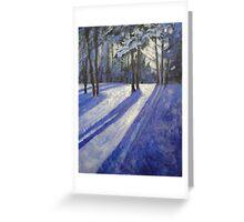 Moonlight Muse Greeting Card