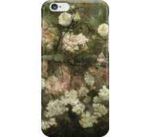 Maria Oakey Dewing - Garden In May. Still life with flowers: flowers, blossom, peony, Rose, floral flora, wonderful flower, plants, cute plant for kitchen interior, garden, pink iPhone Case/Skin