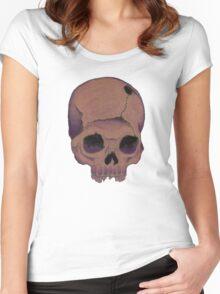 purpleskull Women's Fitted Scoop T-Shirt