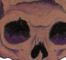 purpleskull Sticker