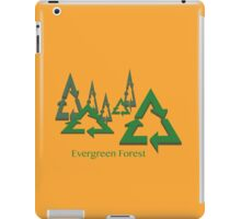 Evergreen Forest iPad Case/Skin