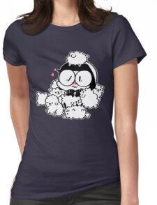 Good Cop Loves Puppy Breath Womens Fitted T-Shirt