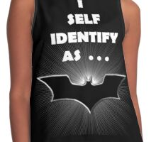 I self Identify as a... BATS Contrast Tank