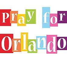 Pray For Orlando Photographic Print