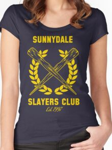Sunnydale Slayers Club Women's Fitted Scoop T-Shirt