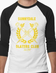 Sunnydale Slayers Club Men's Baseball ¾ T-Shirt