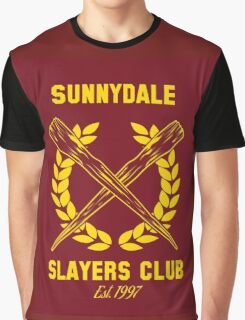 Sunnydale Slayers Club Graphic T-Shirt