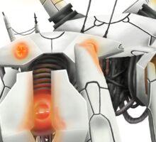 Portal Inspired Robot Sticker