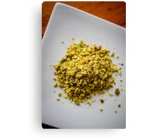Pistachio Nuts Canvas Print