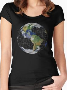 Home Planet Women's Fitted Scoop T-Shirt