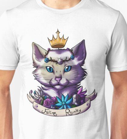Lilac Tabby Siamese Unisex T-Shirt