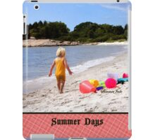Just a Beach Boy and His Toys iPad Case/Skin