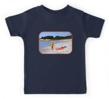 Just a Beach Boy and His Toys Kids Tee
