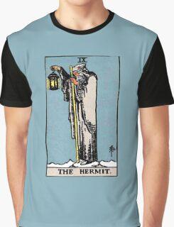 The Hermit Tarot Card  Graphic T-Shirt
