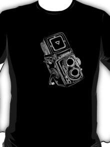 Vintage Camera chalkboard style T-Shirt