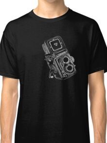 Vintage Camera chalkboard style Classic T-Shirt