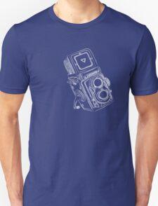 Vintage Camera chalkboard style Unisex T-Shirt