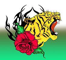 freak tiger  by motiashkar