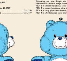 Champ Bear Patent Sticker