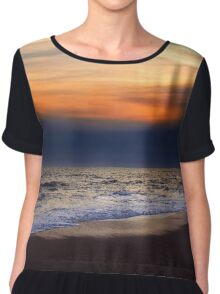 Sunset Beach Chiffon Top