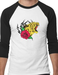 freak tiger  Men's Baseball ¾ T-Shirt
