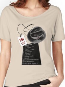 The Blacklist Top 12 with RR on Hat Women's Relaxed Fit T-Shirt