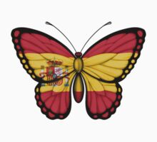 Spanish Flag Butterfly Kids Clothes