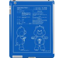 Champ Bear Patent - Blueprint iPad Case/Skin