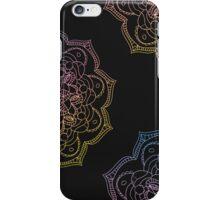 Watercolor mandala round pattern in oriental style. iPhone Case/Skin