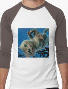 Cheshire Cat Men's Baseball ¾ T-Shirt
