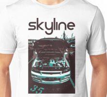 Nissan skyline (black) Unisex T-Shirt