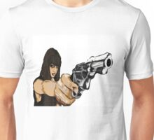 Girl With Gun Unisex T-Shirt